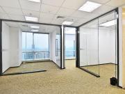 可备案 中洲控股金融中心 135平米精装 高层商业完善
