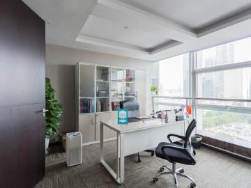创建大厦 358平米 地铁口可备案 中层电梯口