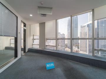 南方证券大厦 430平米 地铁直达可备案 中层电梯口