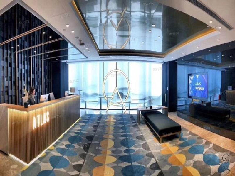 深圳寰图办公空间共享办公前台照片_航天科技广场