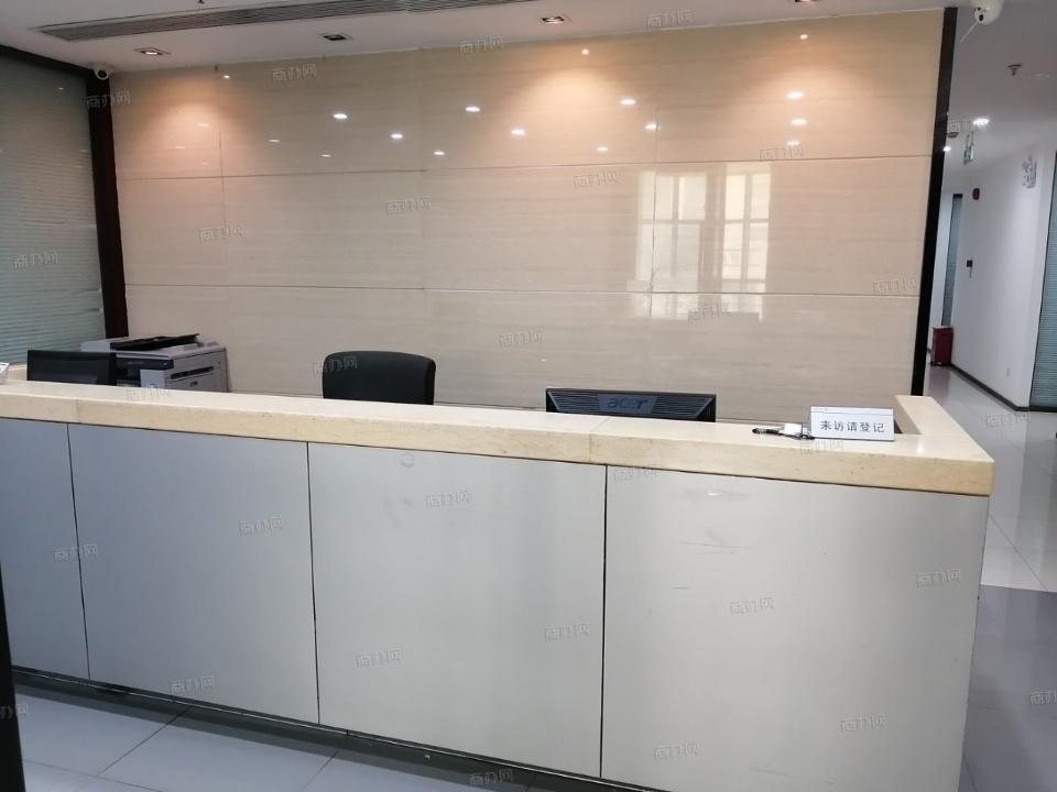 深圳企创商务共享办公前台照片_新绿岛大厦