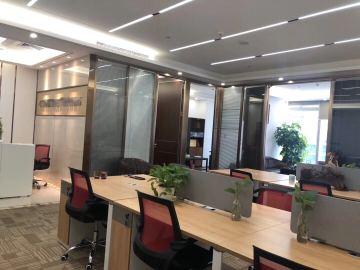 288平米卓越前海壹号 中层沿地铁 可备案精装修写字楼出租