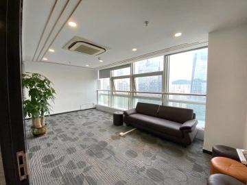 创建大厦高层 416平米楼下地铁 可备案精装
