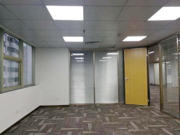 350平米庐山大厦 中层地铁口 可备案电梯口