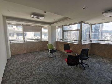 创建大厦中层 327平米近地铁 可备案电梯口