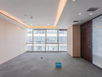 大冲商务中心 720平米 楼下地铁可备案 中层电梯口