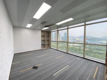 地铁口 大中华国际交易广场 416平米热门地段 中层办公好房