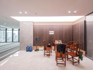 地铁口 文博大厦 980平米精装修 低层免佣写字楼出租