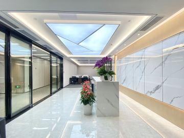 中洲大廈中層 1116平米地鐵口 紅本備案直租寫字樓出租