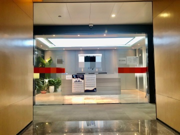 京基滨河时代广场北区(二期A座) 808平米 地铁出口使用率高 中层精装修写字楼出租