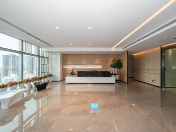 深城投中心高层 1332平米地铁口 电梯口高使用率