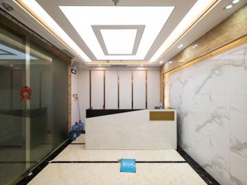 现代国际大厦 385平米 沿地铁可备案 低层装修好写字楼出租