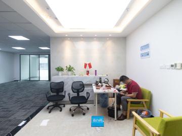 310平米大冲商务中心 高层地铁旁 精装修价格好写字楼出租