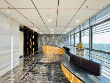 深业泰然大厦 571平米 近地铁电梯口 中层精装
