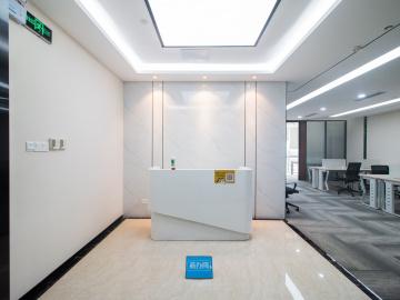 大冲商务中心中层 309平米地铁出口 红本备案精装修写字楼出租
