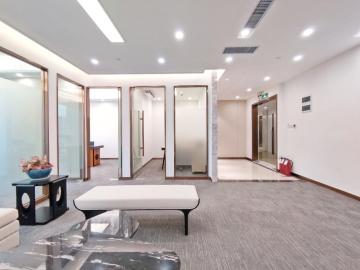 198平米海王星辰大厦 高层地铁旁 正电梯口拎包入驻写字楼出租