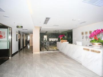 福建兴业银行大厦 1243平米 地铁出口整层 低层电梯口