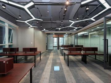 华安保险总部大厦高层 290平米地铁出口 可备案精装修写字楼出租
