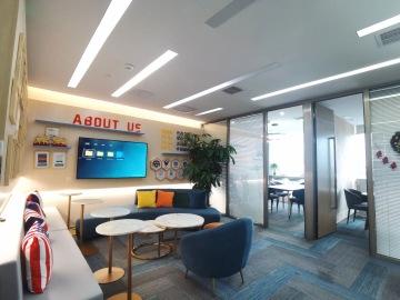 中洲控股金融中心 223平米 红本备案精装修 高层价格好写字楼出租