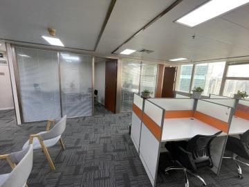 135平米深房广场 高层步行可达 可备案企业聚集地写字楼出租