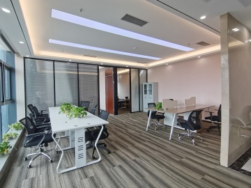 恒博商务中心中层 159平米紧邻地铁 精装随时看房