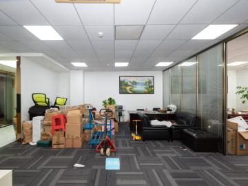 泰然工贸园 258平米 临地铁红本备案 高层一手业主写字楼出租