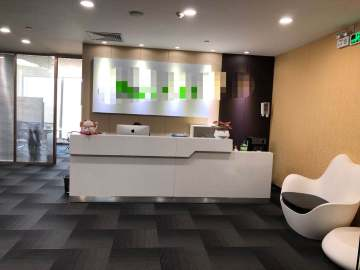 京基滨河时代广场北区(二期A座)高层 314平米地铁口 可备案业主直租