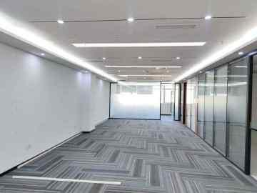256平米华瀚科技大厦 中层使用率高 装修好即租即用写字楼出租