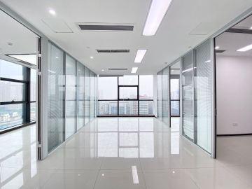 中安大厦中层 231平米地铁出口 红本备案装修好写字楼出租
