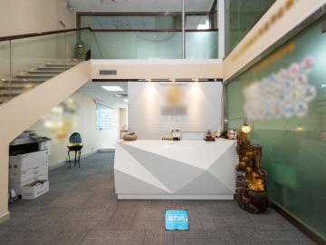 现代国际大厦 398平米 地铁口可备案 高层热门地段