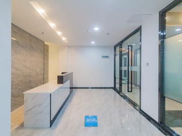 462平米银田工业区 高层红本备案 精装修钥匙在手写字楼出租